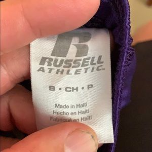 Russell Athletic Bottoms - Girls small Russell athletic Clemson tigers shorts